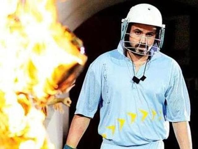 Emraan Hashmi as Azhar in the film. (YouTube)