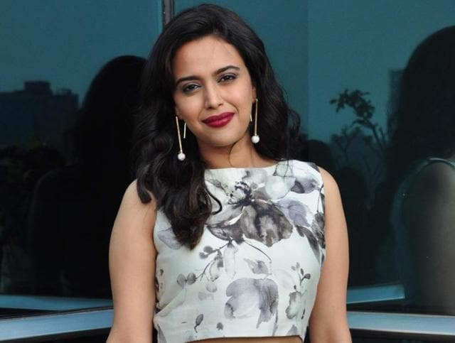 Actor Swara Bhaskar has been dating writer Himanshu Sharma from some time.