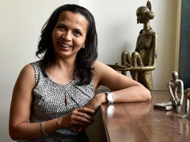 Rujuta Diwekar at her office in Khar.