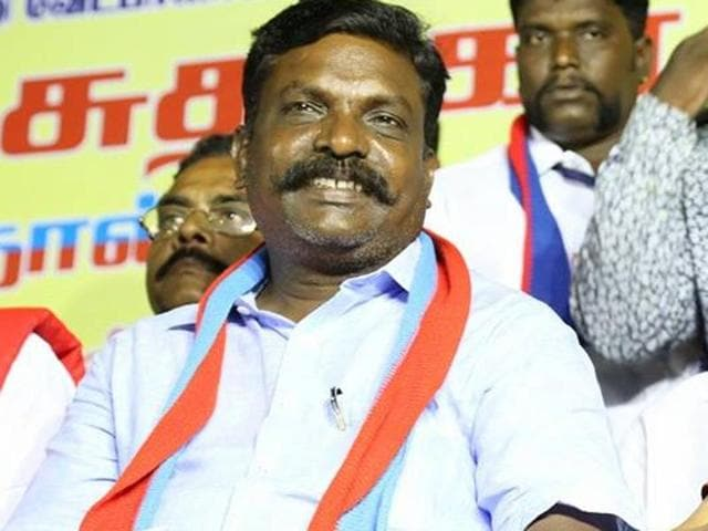 Dalit activist, lawyer, and political firebrand, Thol Thirumavalavan is the leader of the Tamil party that emerged from the Dalit Liberation Panthers movement of the 90s.