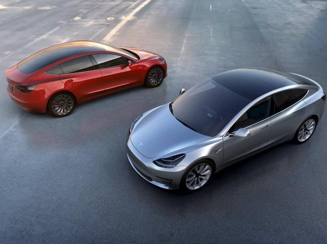 The Model 3, whose projected starting price of $35,000 is less than half of the luxury Model S sedan, is intended to dramatically boost Tesla's production volume and revenue.