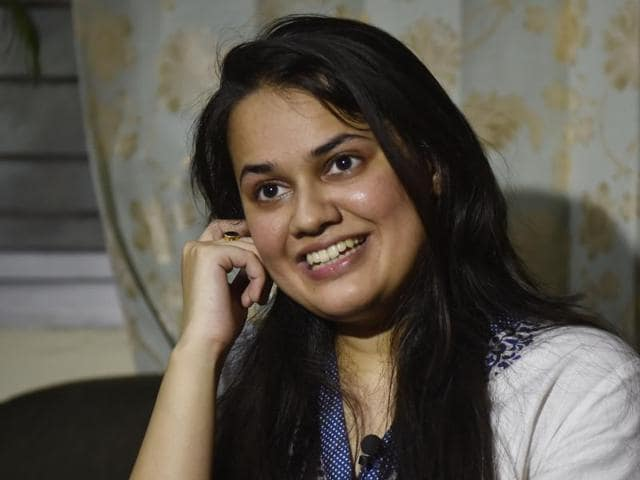 New Delhi: Delhi's Tina Dabi who topped civil services exams with her parents.