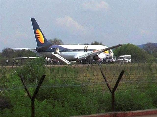 A Jet Airways flight from Mumbai to Kolkata was delayed due to technical snag.