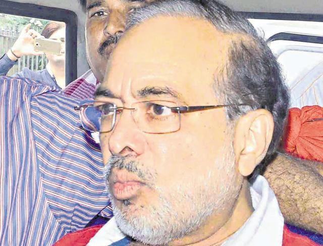 Suspended IASofficer Ashok Singhvi.