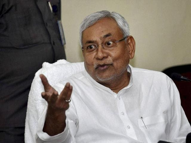 """""""I appeal to Mr Das to impose a ban on liquor in Jharkhand on the lines of Bihar,"""" Kumar said while addressing an event in Dhanbad."""