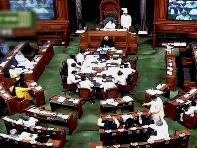 The Budget session ended on Wednesday in Lok Sabha, two days before its schedule adjournment.
