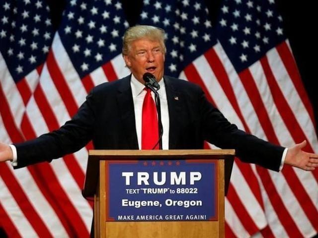 Donald Trump,Republican front runner Trump,US presidential race