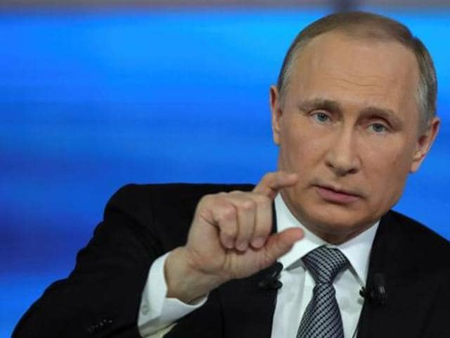 Russian President Vladimir Putin oversaw the launch of a fourth and final line supplying electricity from Russia to Crimea on Wednesday, saying the project had broken an energy blockage he accused Kiev of imposing on the peninsula.