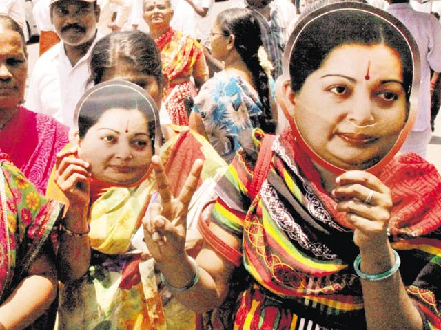 Karunanidhi-led DMK has gained ground by questioning Jaya's inaccessibility, regal style and her followers' sycophancy..