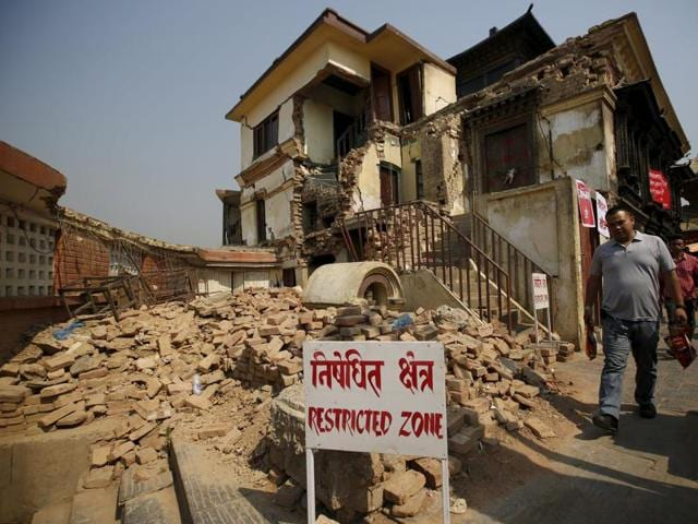 Two mild tremors of magnitude 4.5 and 4.4 respectively, hit central Nepal on Wednesday.