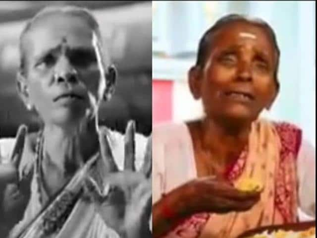 GT Kasturi, popularly known as Kasturi Paati or grandmother in Tamil, has become an overnight sensation after bemused viewers saw her in the ads for the bitter rivals of Dravidian politics.