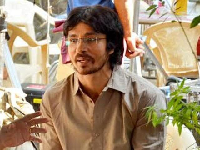 Actor Darshan Kumar says his background in theatre has made it relatively easier for him to act on camera.
