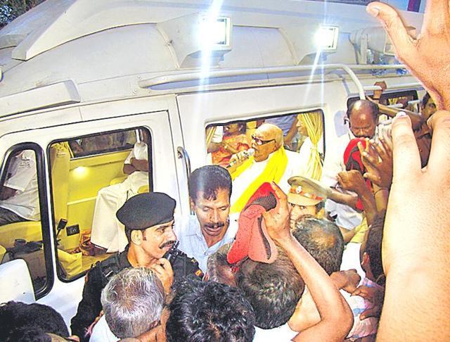 Muthuvel Karunanidhi,Tamil Nadu,Tiruvarur