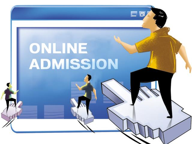 Students seeking admissions through minority, management and in-house quota will have to register on the website.