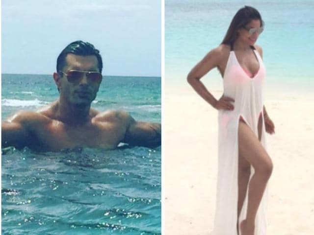 Bipasha Basu,Karan Singh Grover,Bipasha honeymoon