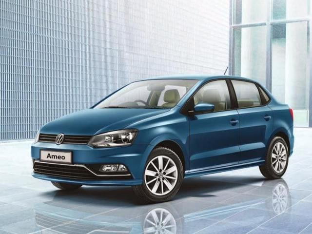 Bookings for Volkswagen's compact sedan Ameo opened on Thursday