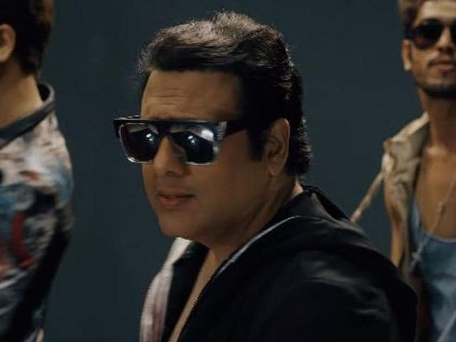 Govinda in a still from the video by Jassi Sidhu.