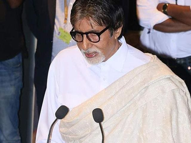 Actor Amitabh Bachchan played a part in seven proposed hydropower projects in Arunachal Pradesh.