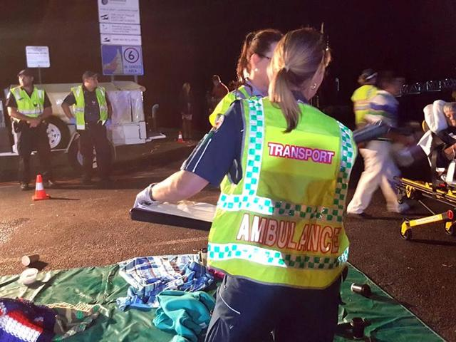 Australia boat fire