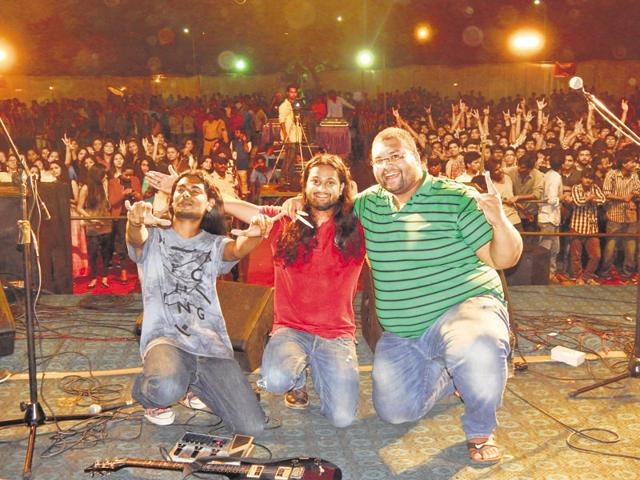 Psych is a four-member band from Madhya Pradesh and is a proponent of hard rock and alternative rock.
