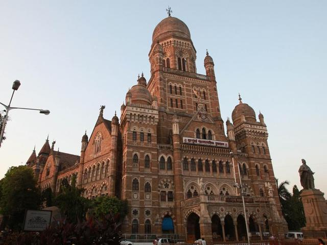 Mumbai…22nd November 2011…News… Bombay Municipal corporation headquarters in Mumbai…HT photo by Hemant Padalkar