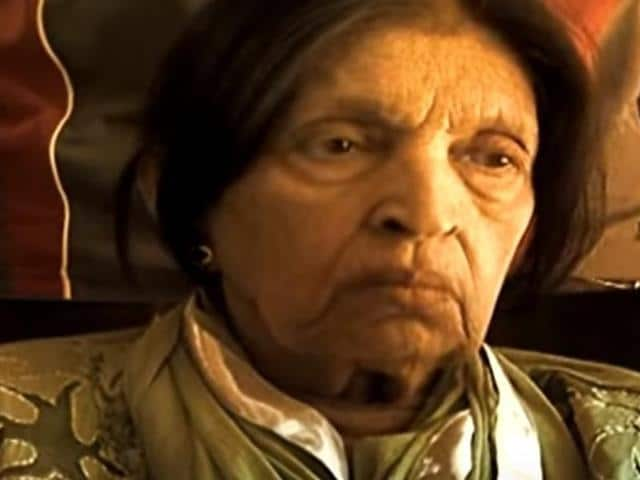 Mubarak Begum was admitted to a hospital in suburban Andheri on May 3, a family member said on Thursday.