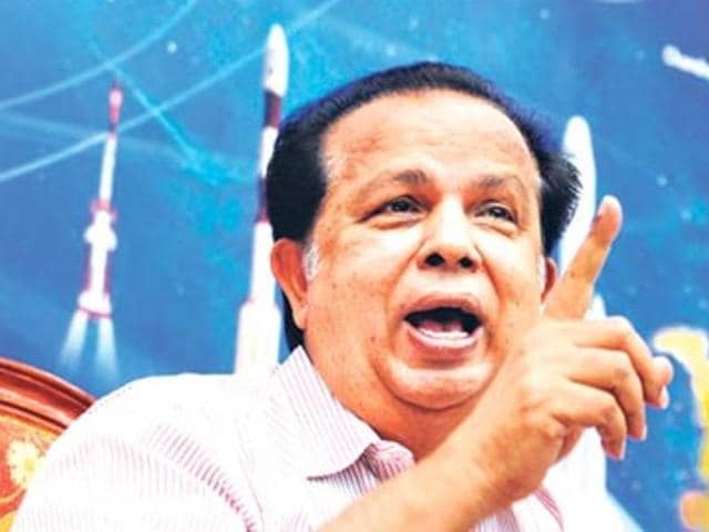 Dr G Madhavan Nair, scientist and former chief of the Indian Space Research Organisation.