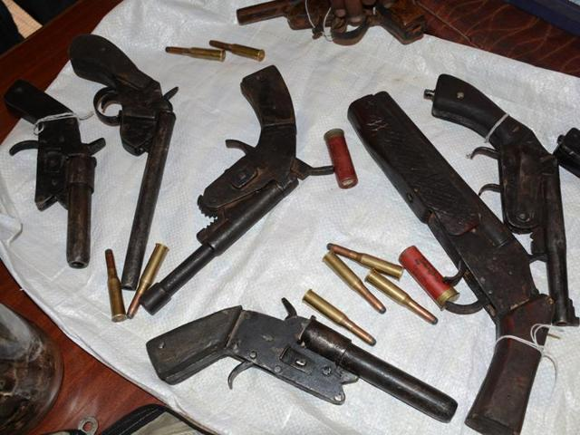 Special Task Force sources in Bhopal termed the seizure of the alleged English make pistol as a significant development.