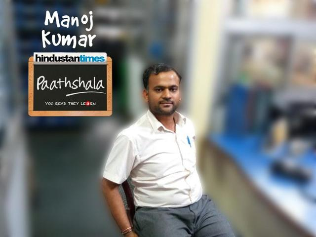 Paathshala volunteer, Manoj Kumar is an engineer at SONA BLW Precision Forging Limited and is looking forward to the next opportunity to volunteer.