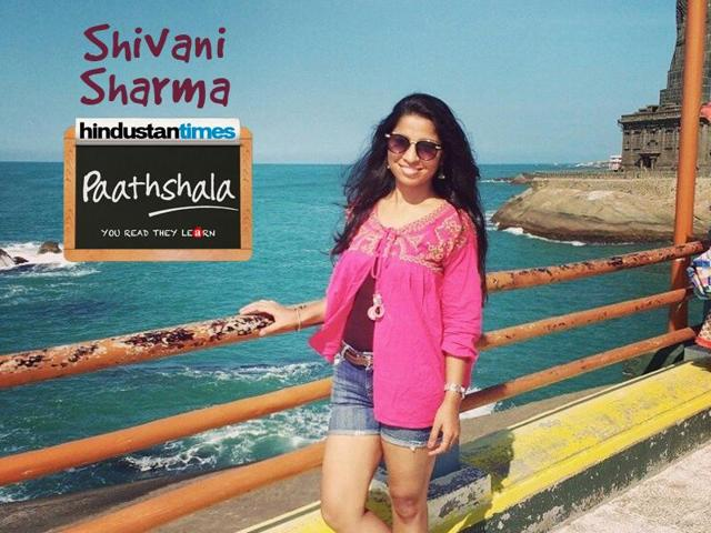 20 year old Shivani Sharma is an English honours student with a soft corner for children that led her to becoming an HT Paathshala volunteer.