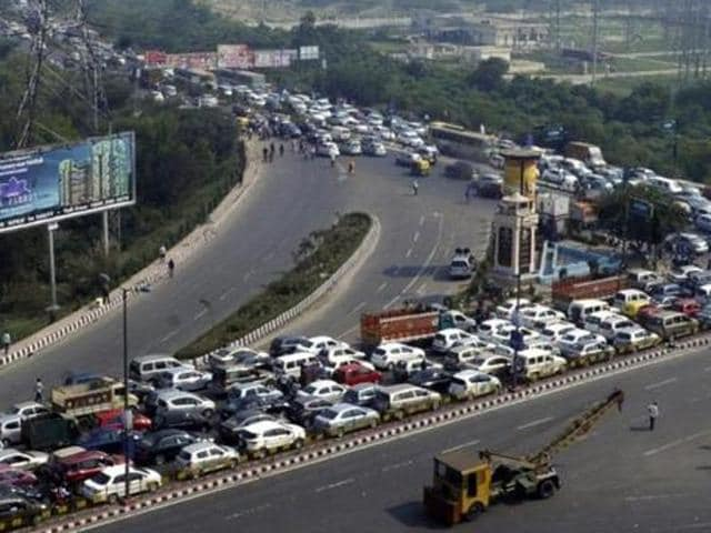 Delhi-Meerut expressway project,NH-24,Dasna-Hapur