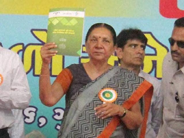 Gujarat CM,Anandiben Patel,Water scarcity