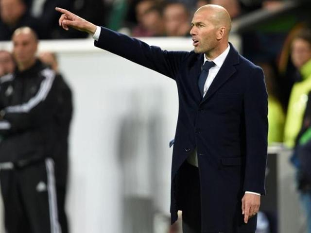 In January, Zidane took over as Real Madrid coach from Rafa Benitez, who was sacked by Real barely six months into the job.