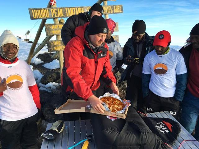 Mt. Kilimanjaro,Africa,pizzza