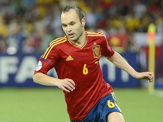 Iniesta will be one of the few remaining figures from all of Spain's three consecutive major tournament triumphs between 2008 and 2012 among Vicente del Bosque's squad in France.