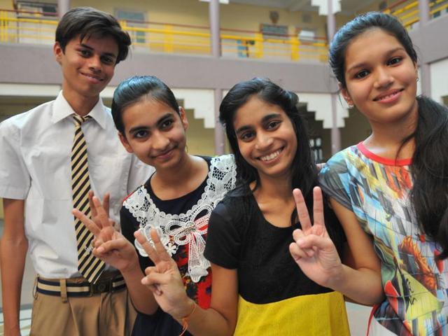 Samyak Jain topped the examination scoring 488 out of a total 500.
