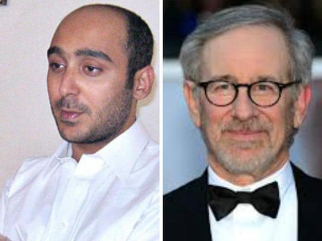 Steven Spielberg wants to make a movie on the abduction and recovery of former Pakistani Prime Minister Yousaf Raza Gilani's son Ali Haider, who was rescued from Al Qaeda-linked abductors in Afghanistan this week.