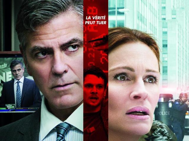 Jodie Foster-helmed Money Monster stars George Clooney and Julia Roberts.