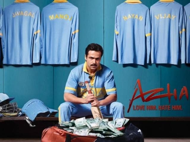 Emraan Hashmi as Mohammad Azharuddin. The biopic focuses on the cricketer's personal life as well as the allegations of match fixing, which ended his career.