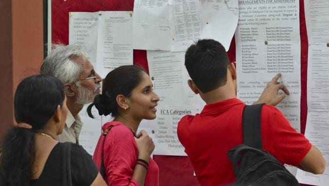DU claims it would be the first Indian university to go completely online in delivering these documents, procurement of which used to be a cumbersome process till now. (Sushil Kumar/HT Photo)