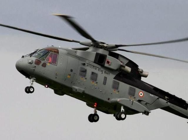 A photo of AgustaWestland AW101 chopper, configured to meet diverse roles for pre-dominantly Maritime and Utility tasks. Photo: agustawestland.com