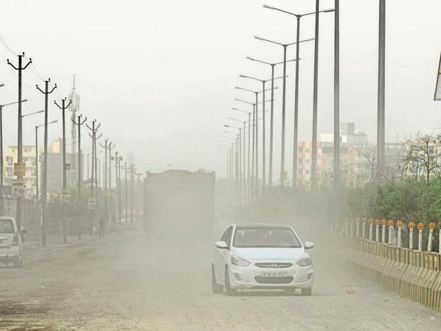 Noida,real estate,dust pollution