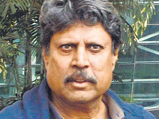 Former cricket captain Kapil Dev inaugurated the betting centre, run by the Golden Gaming International Private Limited, on Gangtok's MG Road but refused to place a bet on one of the ongoing football games.(File photo)