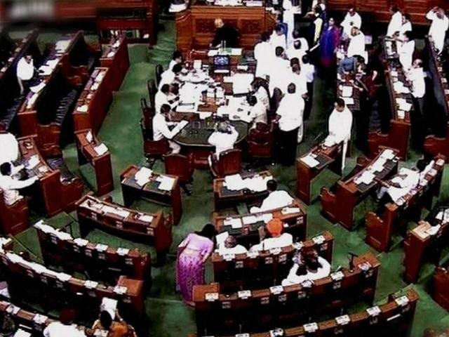 The Lower House passed six bills apart from the financial business while the Rajya Sabha managed to clear nine.