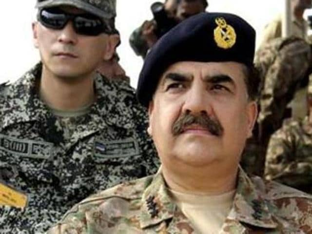 Pakistan Army chief Raheel Sharif has confirmed the death penalty.