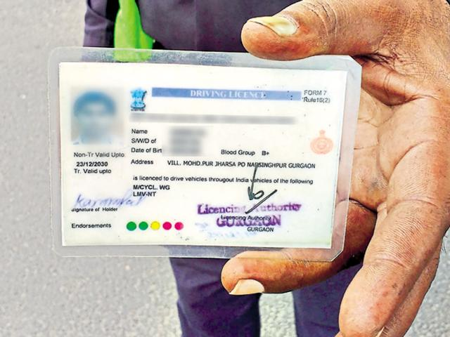 Toll collectors said they seize up to 10 to 12 fake defence personnel cards every day.