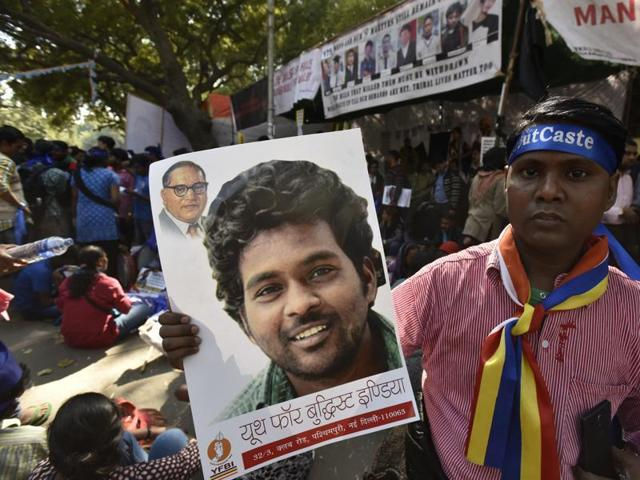 """The sudden resignation of Raj Kumar Sahu, general secretary of University of Hyderabad Students' Union from the Students Federation of India, the student wing of the CPI (M), blaming it on the """"opportunistic"""" policies of the party for the suicide of Dalit research scholar Rohith Vemula on January 17, triggered a commotion among the university students."""