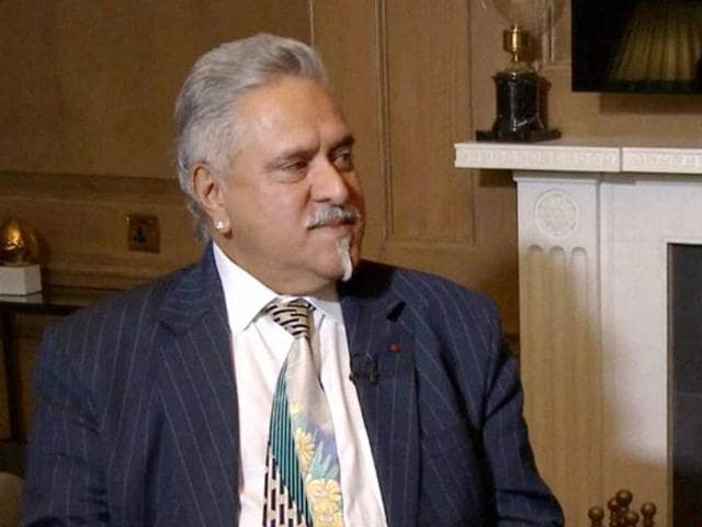 UB Group Chairman Vijay Mallya at an interview with the Financial Times in London.