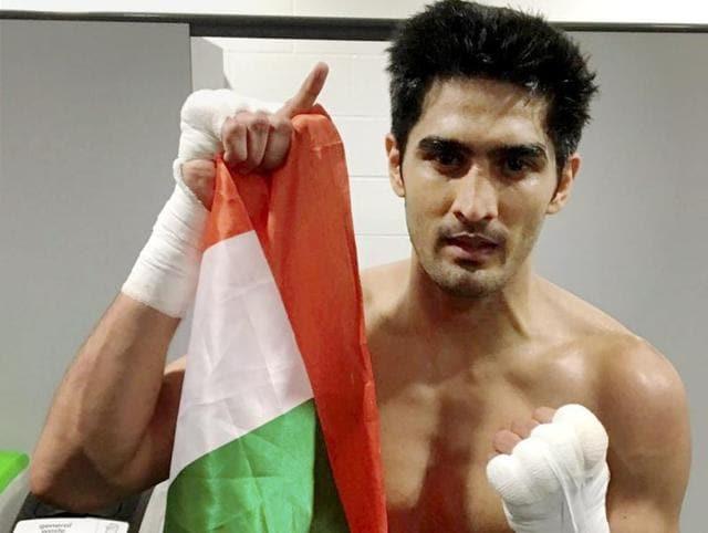 Vijender Singh,Vijender Singh in professional boxing,Vijender's sixth win