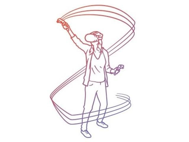 With Tilt Brush for HTC Vive, you can select your colours and brushes to create virtual reality multi-dimensional art